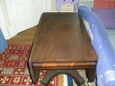 Drop leaf Table Empire style