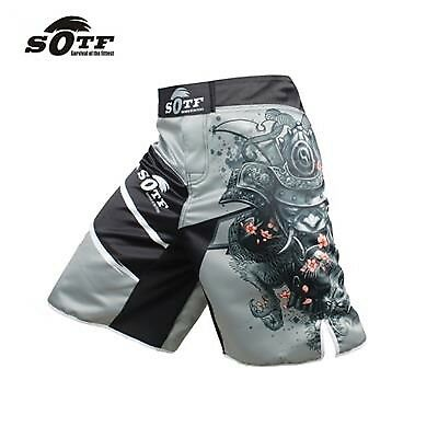 MMA Fighting Shorts Glory Red and Black Tiger Short Muay Thai Boxing Sport Short