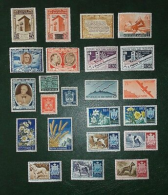 Collection from San Marino Mint & Used