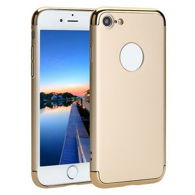 For Apple iPhone 7 Plus Tough Shockproof Armor Heavy Duty Case Cover Back Gold