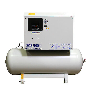 SCS 540/300 Silent Reciprocating Air Compressor w/ Tank