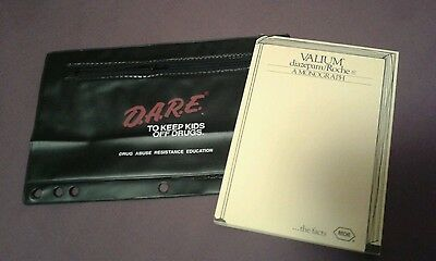 VINTAGE Valium diazepam &  D.A.R.E. To Keep Kids Off Drugs pharmaceutical items!