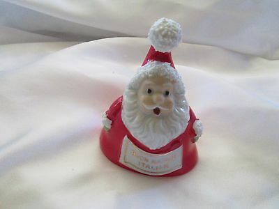 Collectible Vintage Santa Bell Made in Japan