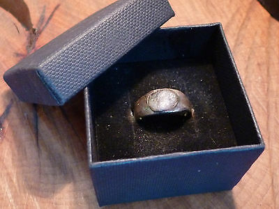 Fantastic Roman Ring with Amethyst Stone-British Detecting Find