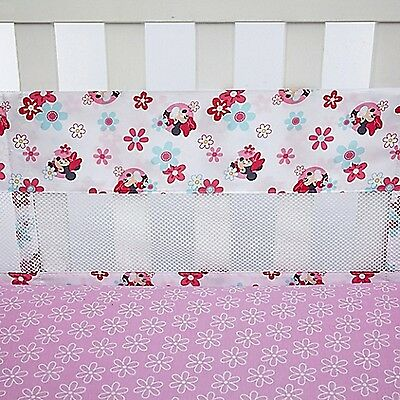 Sweet Minnie Mouse Secure-Me Crib Liner By Disney Baby