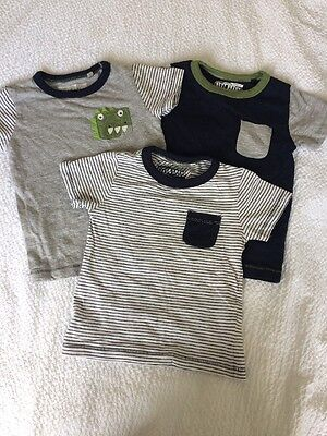 Next Boys Tshirts 12-18 Months Excellent Condition