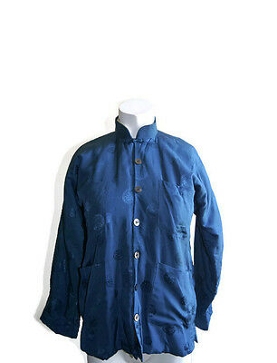 Double Horse Pure Silk Chinese Jacket Quilted Unisex