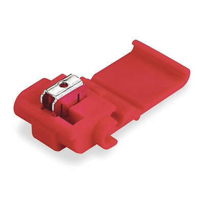 3M Displacement Connector,22-16AWG,PK100, 558 BOX, Red