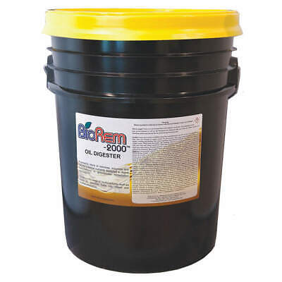 BIOREM-2000 Solidifier,Liquid,Pail Container,5 gal., 8608-005