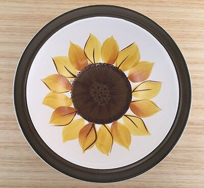 Vintage Electra Casual Ceram Stoneware Sunflower Mexicali Bowl Made In Japan