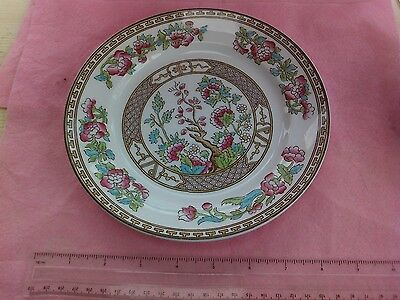 Indian tree side plate by Bridgwood pottery England, early 20th century, vintage