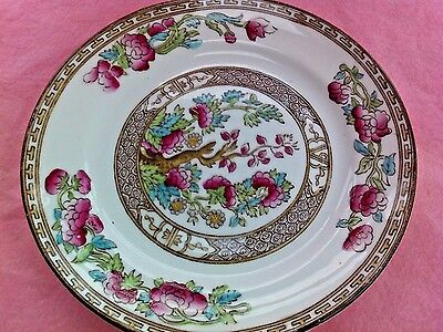 Indian tree  side plate by Bridgwood Pottery England,early 20th century