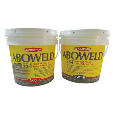ABOWELD 55-1 Epoxy Paste,Gray,2 gal.,Tub, 5512GKR