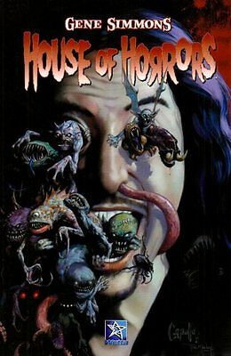 House of Horrors by Gene simmons (Kiss) rare collectors 1st print 2007 Mint Con