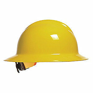 BULLARD Hard Hat,6 pt. Ratchet,Ylw, 33YLR, Yellow