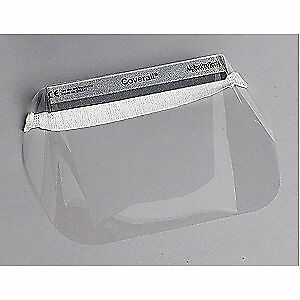ALPHA PROTECH Disposable Faceshield Assembly,Clr,PK100, 2807