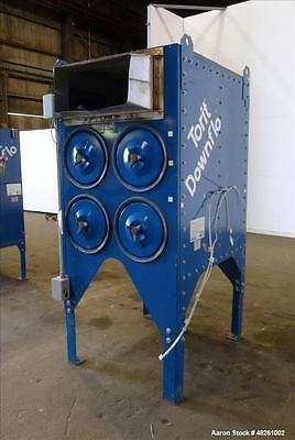 Used- Torit Donaldson Downflo Cartridge Dust Collector, Model 2DF4, Carbon Steel