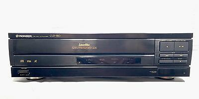 Pioneer CLD-980 CD LD Laserdisc Player, WORKING