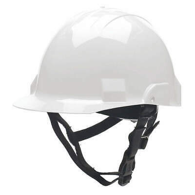 BULLARD Fire/Rescue Helmet,Thermoplastic,White, A2WHS, White