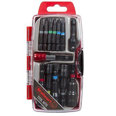 Stalwart 75-HT4013 Power Bit and SAE Nut Driver Set 13 Piece New