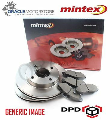 NEW MINTEX REAR  BRAKE DISC AND PADS SET FOR MG ZT MDK0186 FAST DELIVERY *