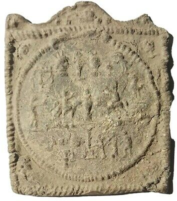 Ancient Roman artifact. Iconic Plate.