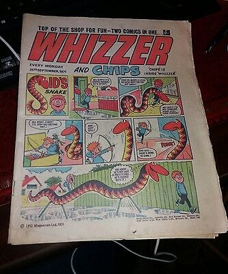 Whizzer and Chips- 25th September 1971
