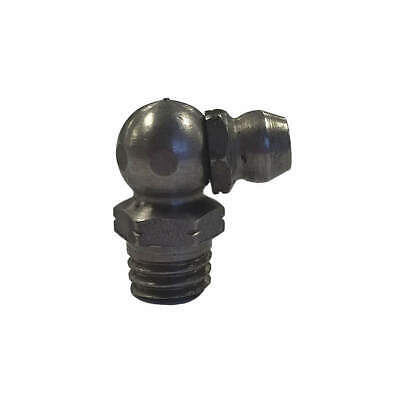 KINGFISHER Hydraulic Grease Fitting,90 degrees,PK10, 815790