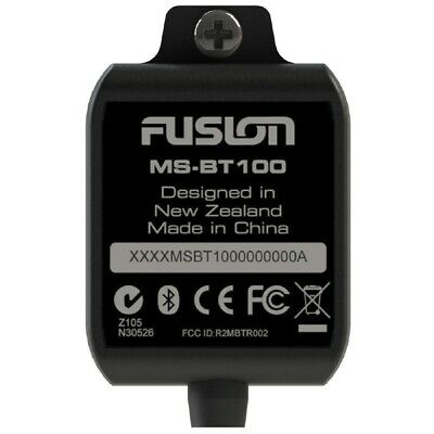 Fusion MS-BT100 Bluetooth Dongle Adapter Marine Radio Stereo Head Units AUX RCA