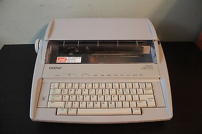 Brother GX-6750 Dasiy Wheel Electronic Typewriter Tested and Working