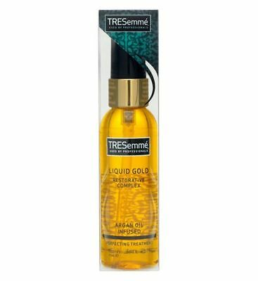 TRESemme LIQUID GOLD ANTI-FRIZZ PERFECTING TREATMENT 75ML RESTORATIVE COMPLEX