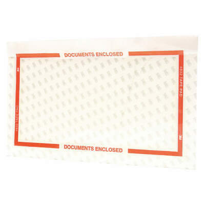 SCOTCH Polyethylene Packing List Envelope,10 In H,PK1000, 832, Clear