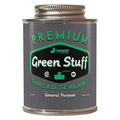 JOMAR VALVE - THE GREEN General Purpose Thread Sealant,16oz.,Can, 400-104, Green