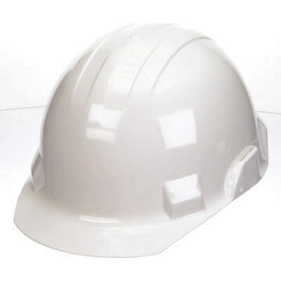BULLARD Hard Hat,G, E,White,4 pt. Ratchet, VTWHR, White
