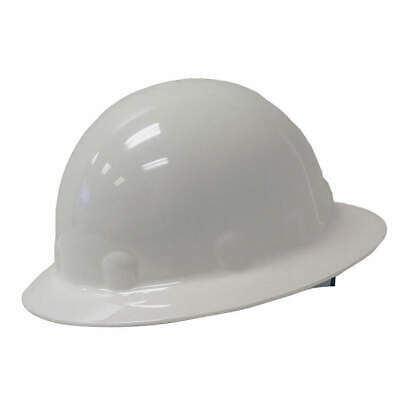 HONEYWELL FIBRE-METAL Hard Hat,C, G, E,White,8 pt. Ratchet, E1SW01A000, White