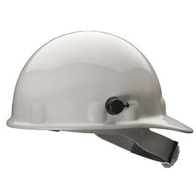 HONEYWELL FIBRE-METAL Hard Hat,8 pt. Ratchet,Wh, E2QSW01A000, White