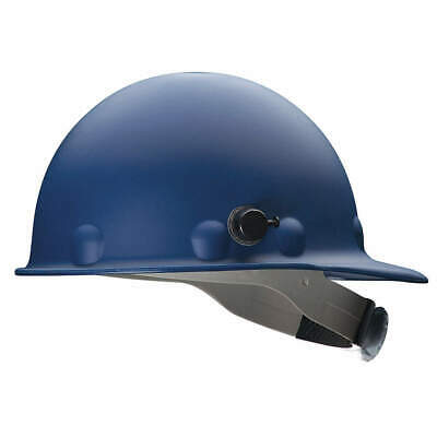 HONEYWELL FIBRE-METAL Hard Hat,C, G,Blue,8 pt. Ratchet, P2AQRW71A000, Blue