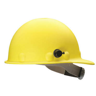 HONEYWELL FIBRE-METAL Hard Hat,8 pt. Ratchet,Ylw, P2AQRW02A000, Yellow
