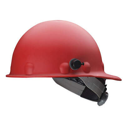 HONEYWELL FIBRE-METAL Hard Hat,8 pt. Ratchet,Red, P2AQSW15A000, Red
