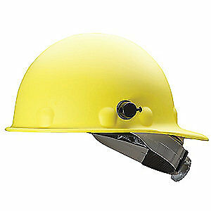 HONEYWELL FIBRE-METAL Hard Hat,8 pt. Ratchet,Ylw, P2AQSW02A000, Yellow