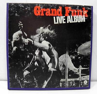 Grand Funk Live Album Reel to Reel Tape Double Length 7-1/2 IPS Play Tested OK