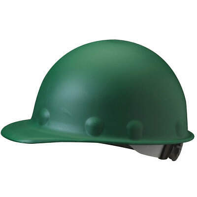 HONEYWELL FIBRE-METAL Hard Hat,8 pt. Ratchet,Grn, P2ASW74A000, Green