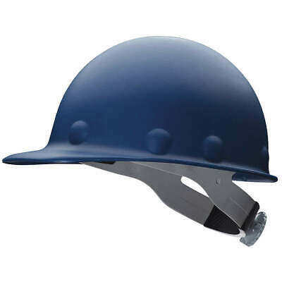 HONEYWELL FIBRE-METAL Hard Hat,C, G,Blue,8 pt. Ratchet, P2ARW71A000, Blue