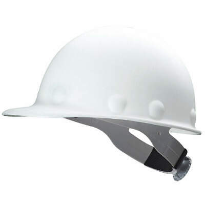 HONEYWELL FIBRE-METAL Hard Hat,8 pt. Ratchet,Wh, P2ASW01A000, White