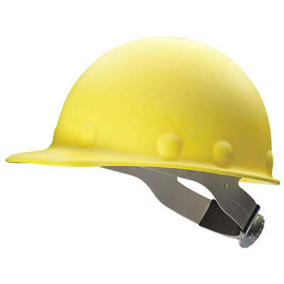 HONEYWELL FIBRE-METAL Hard Hat,8 pt. Ratchet,Ylw, P2ASW02A000, Yellow