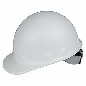 HONEYWELL FIBRE-METAL Hard Hat,C, G,White,8 pt. Ratchet, P2HNRW01A000, White