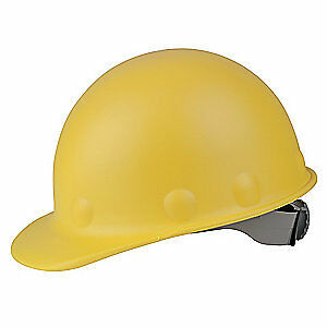 HONEYWELL FIBRE-METAL Hard Hat,8 pt. Ratchet,Ylw, P2HNRW02A000, Yellow