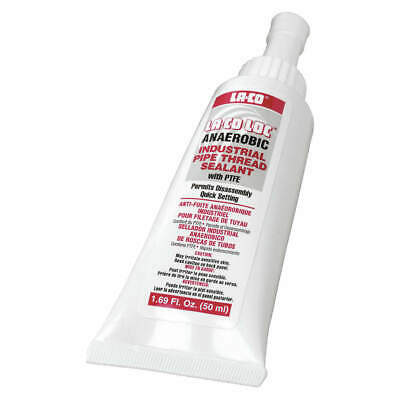 MARKAL Anaerobic Thread Sealant,250mL,Tube,PTFE, 49250, White
