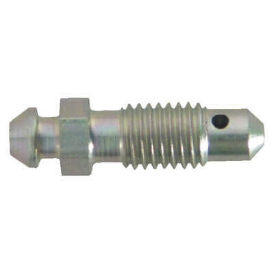 "SUR&R Steel Bleeder Screw,1/4""-24 Thread Sz,PK5, BB04"