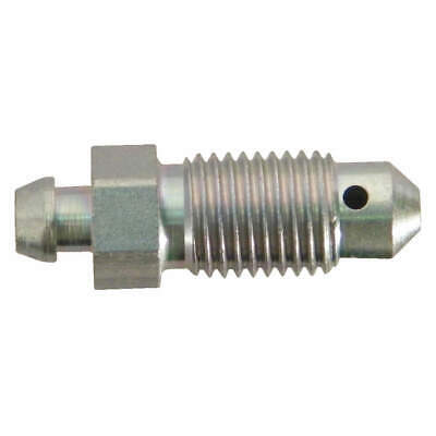 "SUR&R Steel Bleeder Screw,7/16""-20NF Thread Sz,PK5, BB11"